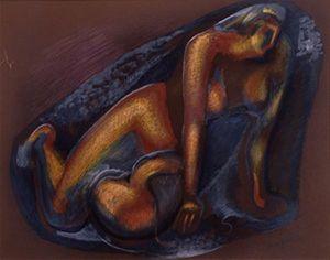 Nudo - Alexander Porfiryevich Archipenko
