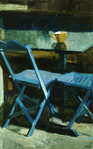 The blue chairs II