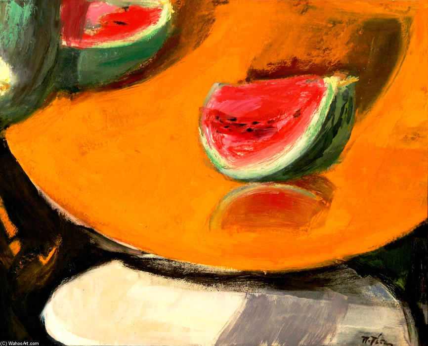 Wikioo.org - The Encyclopedia of Fine Arts - Painting, Artwork by Panayiotis Tetsis - Still Life