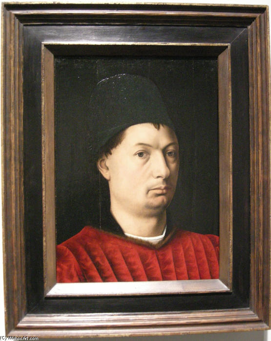 Wikioo.org - The Encyclopedia of Fine Arts - Painting, Artwork by Petrus Christus - Portrait of a man