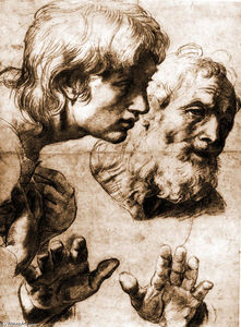 Studies for the Transfiguration