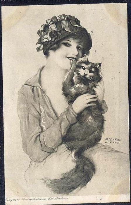 WikiOO.org - Енциклопедія образотворчого мистецтва - Живопис, Картини  Raphael Kirchner - Unknown