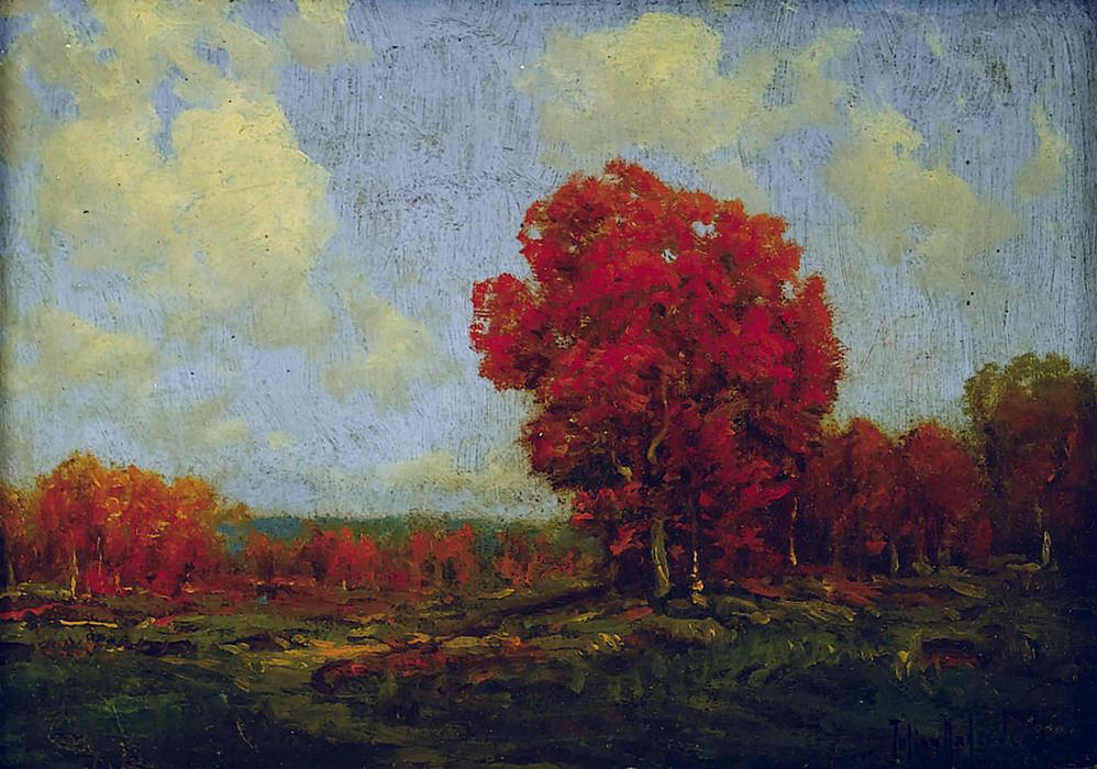 Wikioo.org - The Encyclopedia of Fine Arts - Painting, Artwork by Robert Julian Onderdonk - October Day