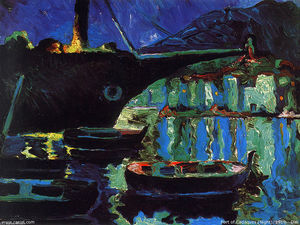 Port of Cadaques (Night)