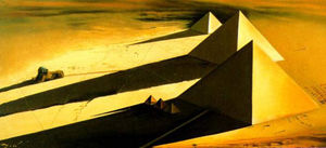 The Pyramids and the Sphynx of Gizeh