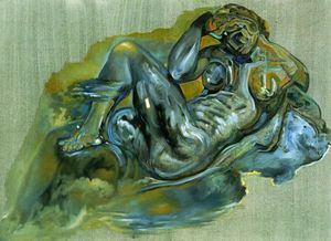 Untitled (After 'The Night' by Michelangelo)