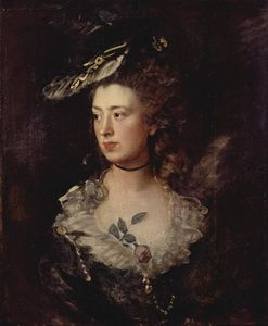 Portrait of the Mary Gainsborough