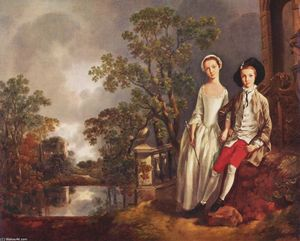 Portrait of Heneage Lloyd and his Sister, Lucy