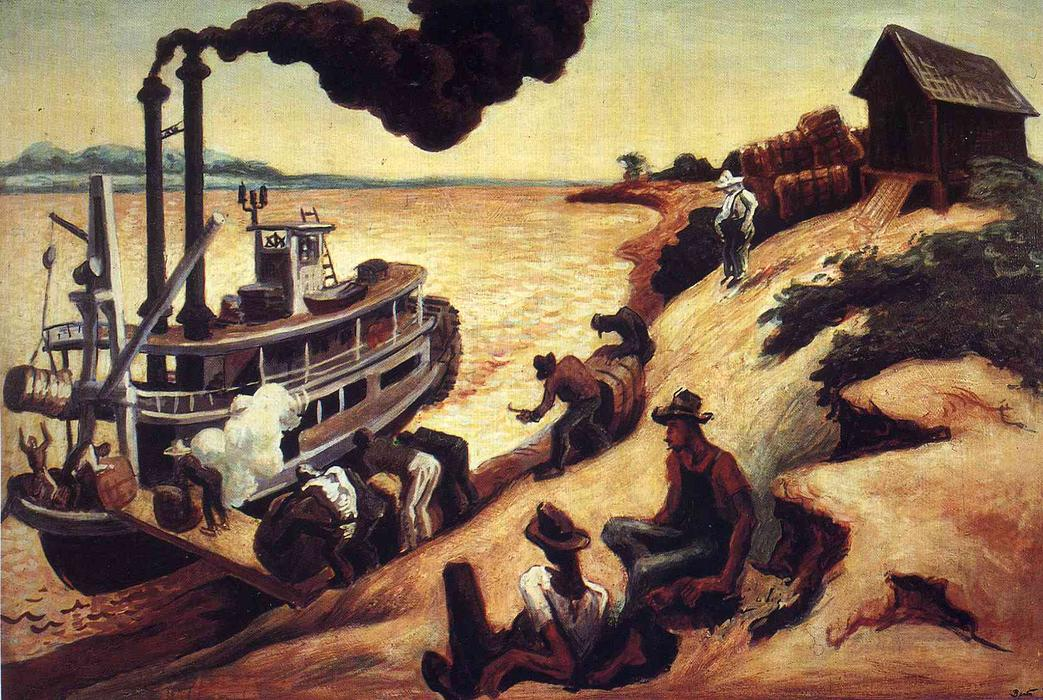 thomas hart benton Thomas hart benton art for sale the way to buy and sell art online safely free listings no buyer or seller fees - just post your best net price.