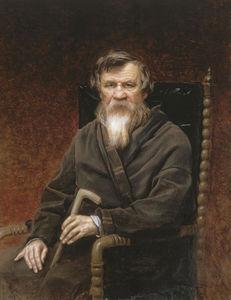 Portrait of the historian Mikhail Petrovich Pogodin