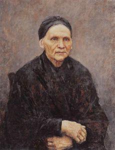 Portrait of P. F. Surikova (Artist's Mother)
