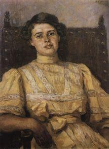 Portrait of E. N. Sabashnikova