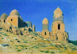 Mausoleum of Shah-i-Zinda in Samarkand