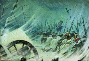 The Night Bivouac of the Great Army