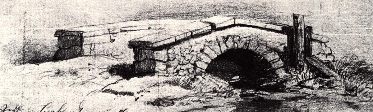 Wikioo.org - The Encyclopedia of Fine Arts - Painting, Artwork by Vincent Van Gogh - The Bridge