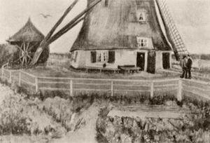 Lower Part of the Windmill De Laakmolen