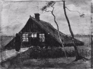 Farmhouse at Night