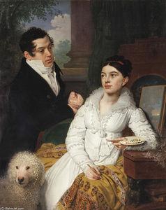 Portrait of A. G. and A. A. Lobanov Rostovsky