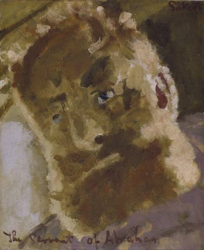 Wikioo.org - The Encyclopedia of Fine Arts - Painting, Artwork by Walter Richard Sickert - The Servant of Abraham