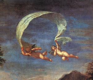 Adonis Led by Cupids to Venus, detail