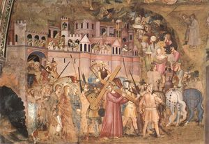 Christ Bearing the Cross to Calvary