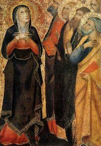 Ascension of Christ (detail)