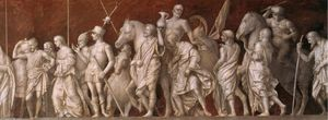 Continence of Scipio (detail)