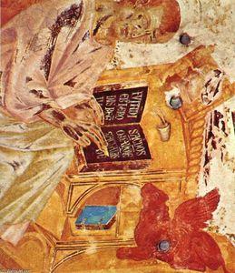 St Luke (detail)