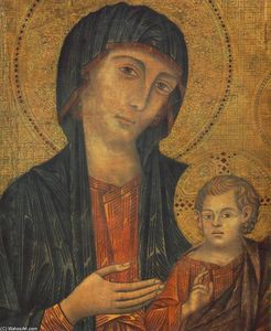 The Madonna in Majesty (detail)