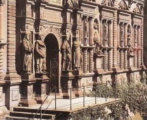 Facade Of The Otto Heinrich Wing