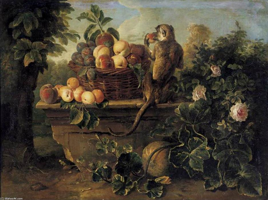 Wikioo.org - The Encyclopedia of Fine Arts - Painting, Artwork by Alexandre François Desportes - Still-Life