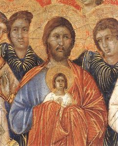 la Morte della Vergine particolare
