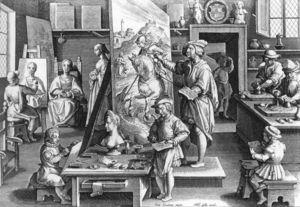 A Painter's Workshop