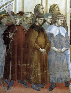 leggenda di san francesco : 13 . istituzione del presepe di greccio ( particolare )