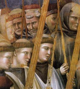 leggenda di san francesco : 22 . verifica delle stimmate ( particolare )
