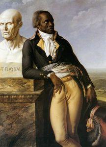 Retrato de JB Belley, Adjunto de Saint-Domingue