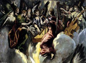 The Annunciation (detail)