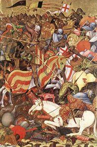 Retable of St George (detail)