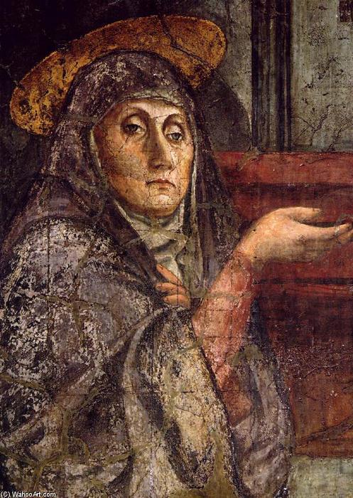Wikioo.org - The Encyclopedia of Fine Arts - Painting, Artwork by Masaccio (Ser Giovanni, Mone Cassai) - Trinity (detail)