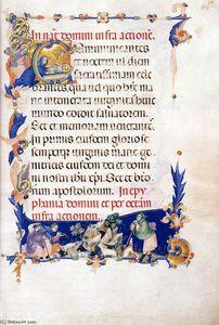 Master Of The Codex Of Saint George