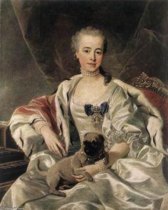 Portrait of Catherina Golitsyna
