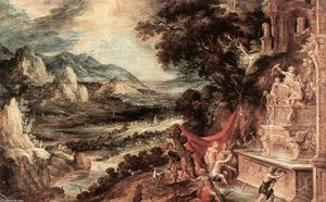 Landscape with Actaeon and Diana