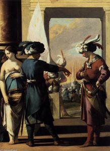 Cyrus Announcing to Araspas that Panthea Has Obtained His Pardon