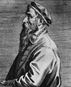 Portrait of Pieter Bruegel the Elder