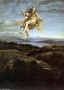 Mary Magdalen Raised by Angels
