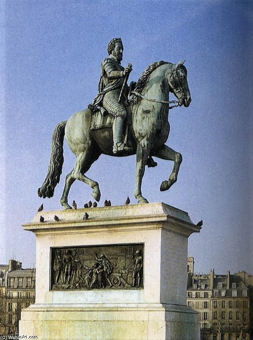 Wikioo.org - The Encyclopedia of Fine Arts - Painting, Artwork by François Frédéric Lemot - Equestrian Statue of Henri IV