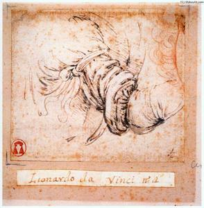 Sleeve study for the Annunciation