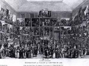 Exposition au Salon du Louvre en 1787