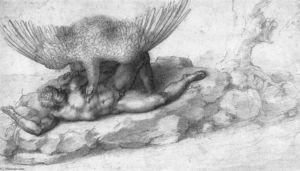 The Punishment of Tityus (recto)