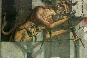 Christ in Limbo (detail)